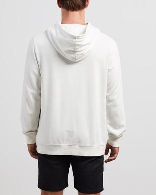 Afends Fight Pull On Hoodie - Hoodies (Blanc)