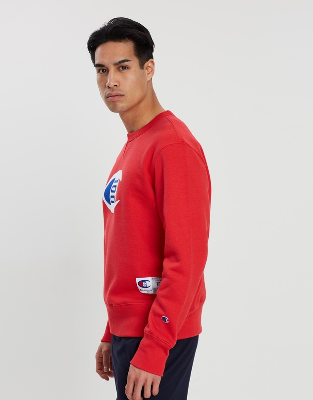 Champion - 100 Year Collection Logo Crew Sweatshirt