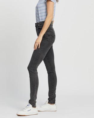 Levi's 721 High Rise Skinny Jeans - High-Waisted (True Grit)
