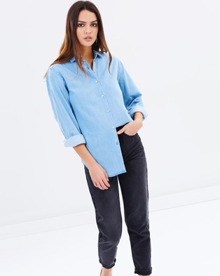Assembly Label – Xander Shirt – Tops (French Blue)