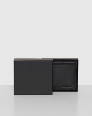 Republic of Florence Puccini Bi fold Soft Leather Wallet - Wallets (Black)