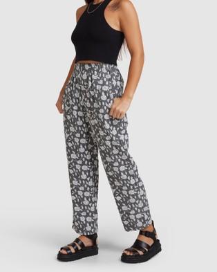 RVCA Matchstix Cord Pants BALSAM GREEN