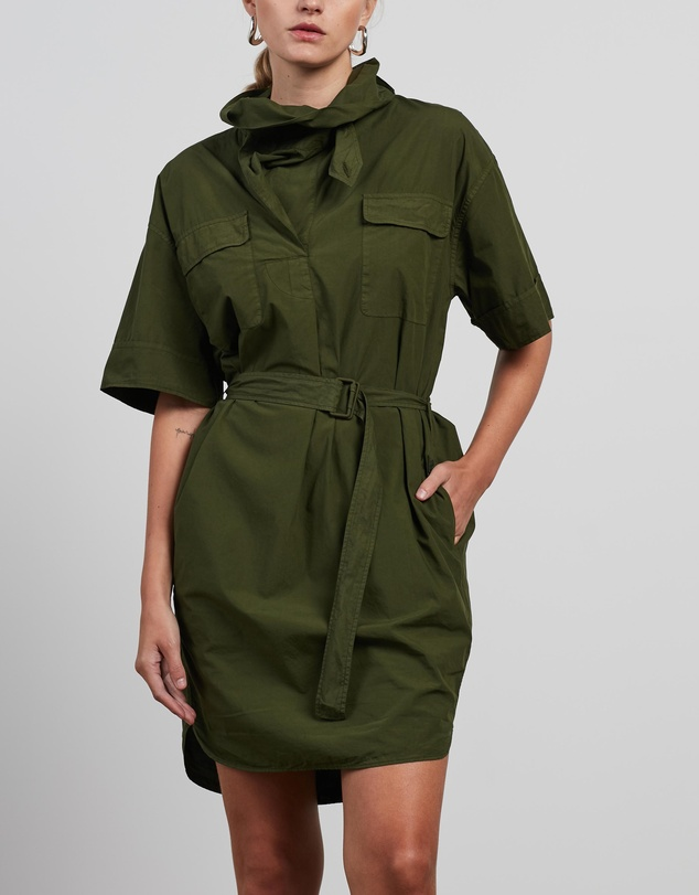 Kenzo - Belted Tunic Dress