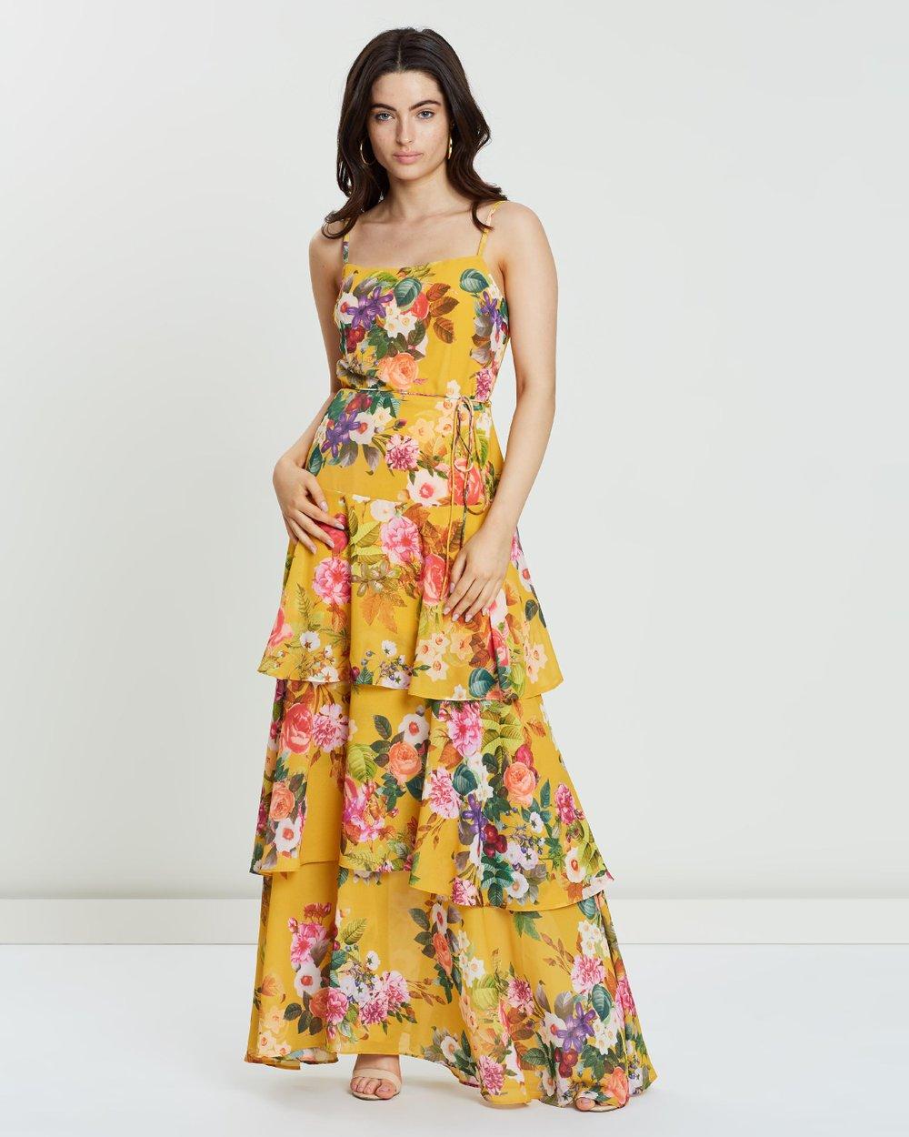 42179f1cb Vivid Tie Waist Maxi Dress by Cooper St Online | THE ICONIC | Australia