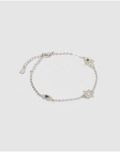 Izoa Chance Bracelet Silver