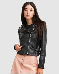 Belle & Bloom - Just Friends Leather Jacket