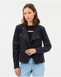 West 14th - Greenwich Street Motor Jacket - Vegan Leather