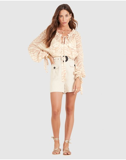 Ministry Of Style Acacia Shorts Beige