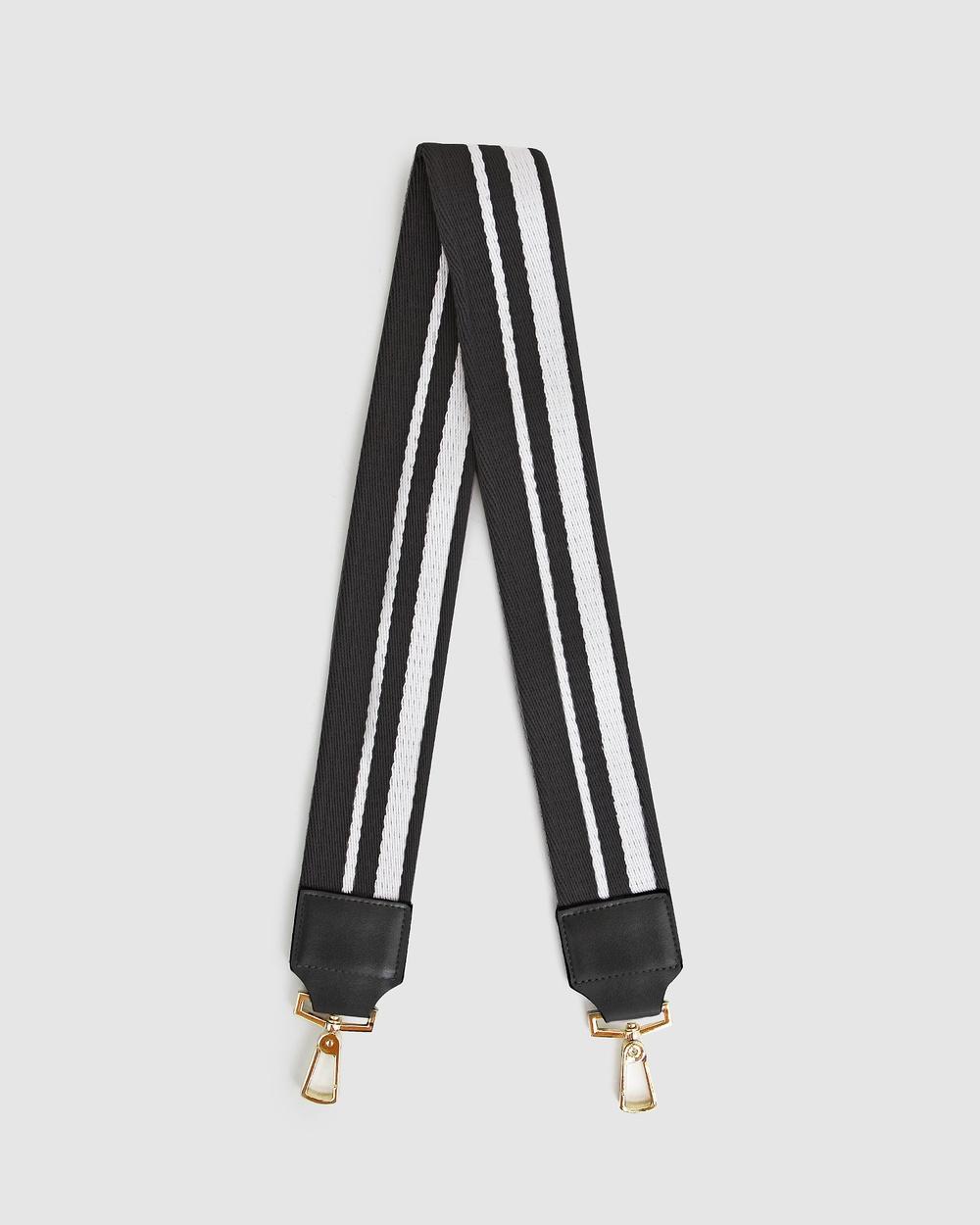 Belle & Bloom Classic Shoulder Strap Handbags Black