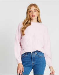 Dorothy Perkins - Pointelle Stitch Jumper