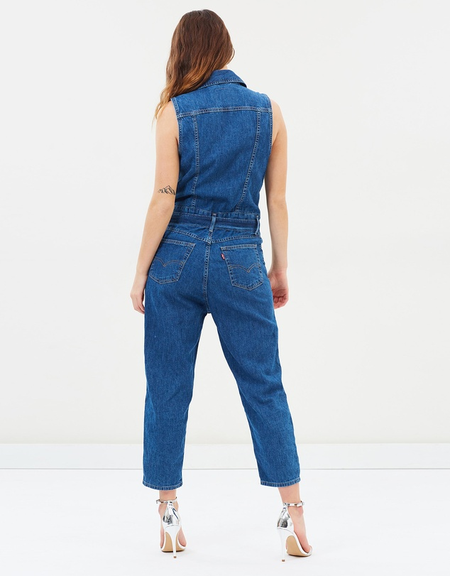 Levi's - Cropped Taper Jumpsuit