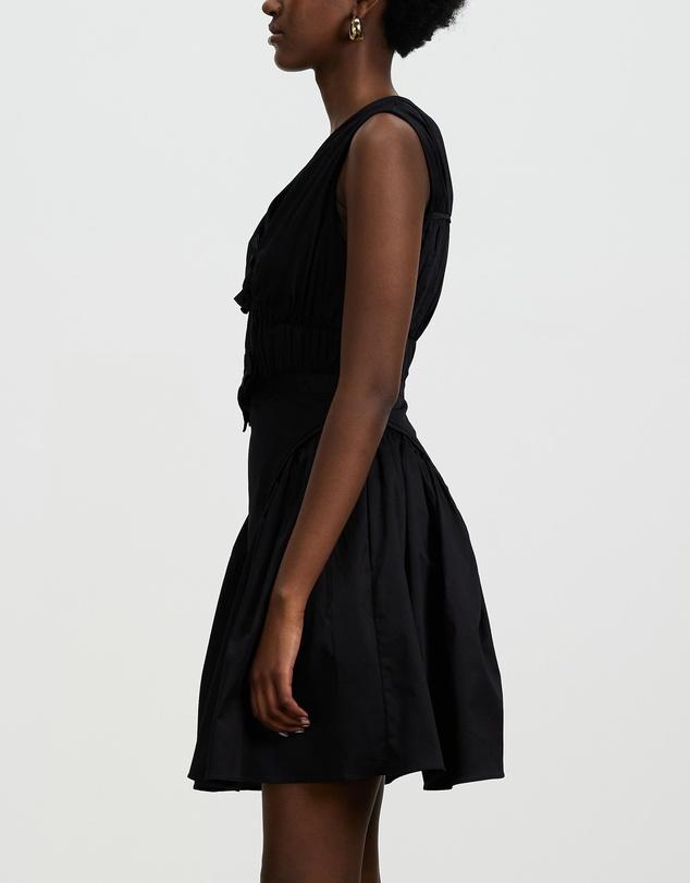 Women Bow Detail Mini Dress