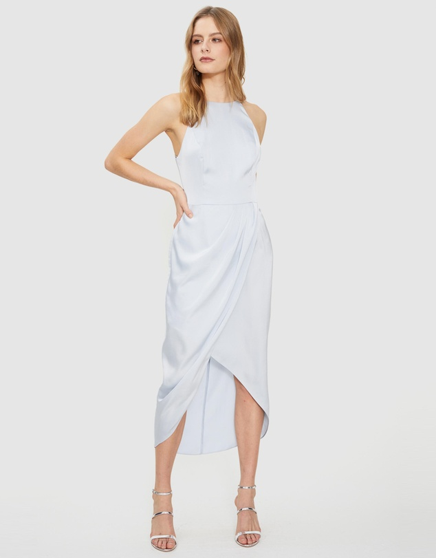 Cooper St - Lotta High Neck Drape Dress