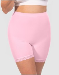 B Free Intimate Apparel - Curvy Anti-Chafing Petite Cotton Shorts