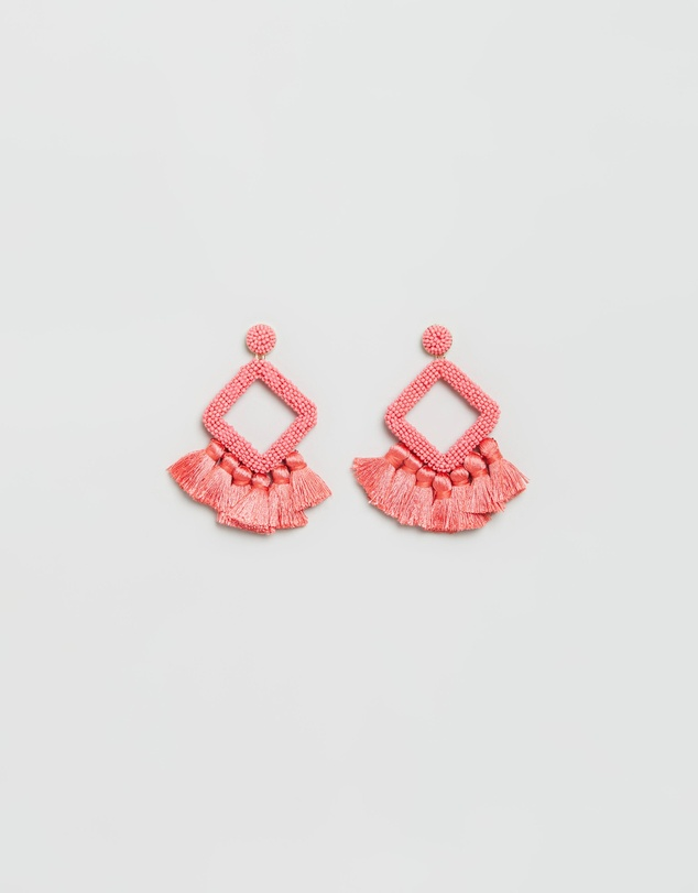 BaubleBar - Laniyah Fringe Drop Earrings