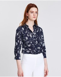 Sportscraft - Lily Voile Etched Floral Shirt