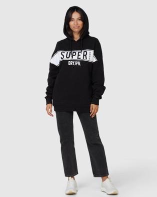 Superdry SDRY Panel Hood - Sweats (Black)