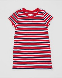 Tommy Hilfiger - Multi Stripe Knit Dress SS - Kids