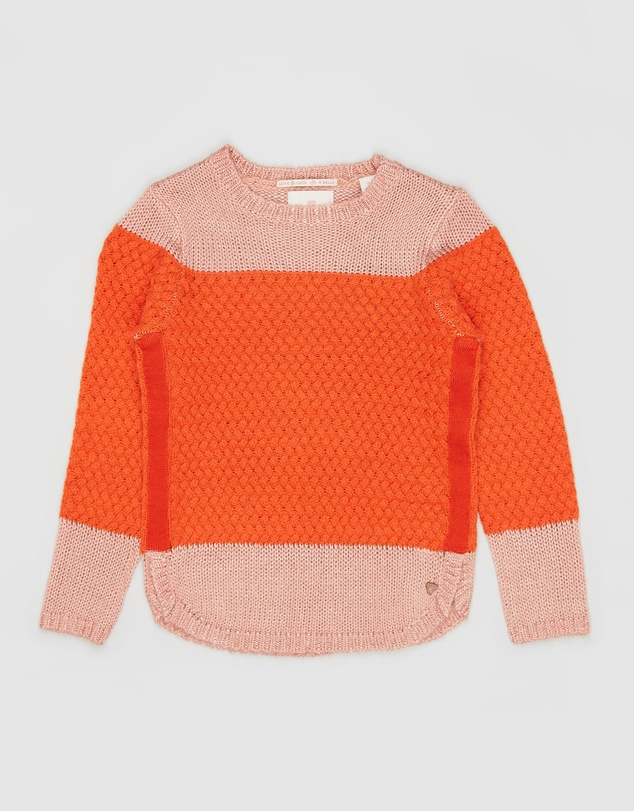 Scotch R'belle - Tonal Colour-Block Pullover - Teens