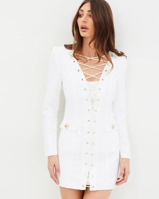 SABAYA – Azalea Dress White