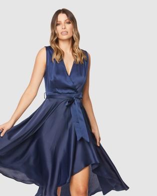 Pilgrim Forever Midi Dress - Bridesmaid Dresses (Navy)