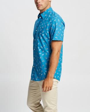 Marcs Terry SS Shirt - Shirts & Polos (Blue)
