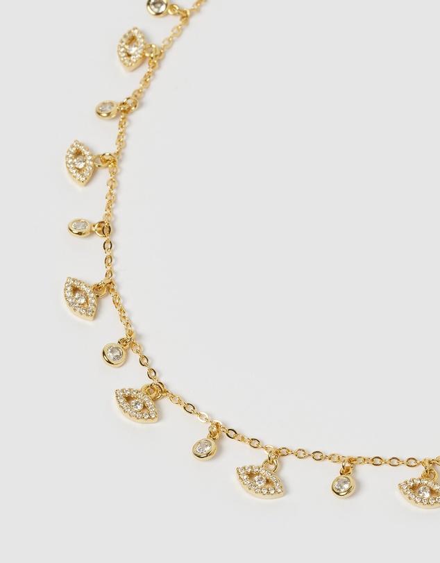 Women Tammy Eye Necklace