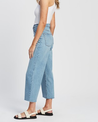 Nobody Denim Milla Jeans - Crop (Rippled)
