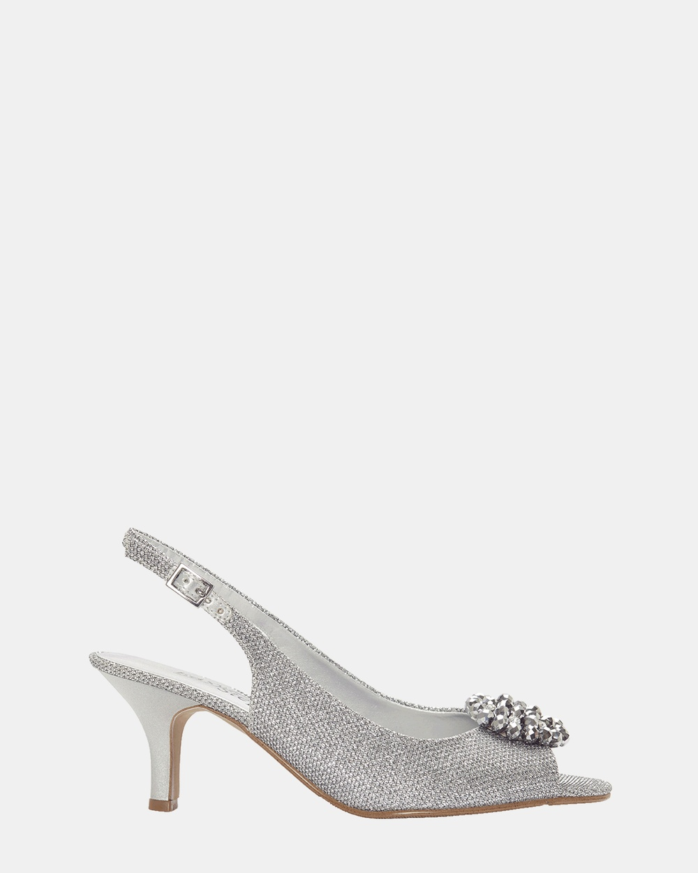 Easy Steps Anissa All Pumps Silver Shimmer Anissa