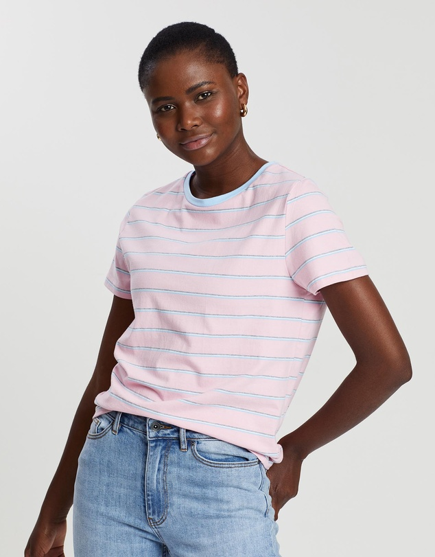Lola Stripe T Shirt by Crate