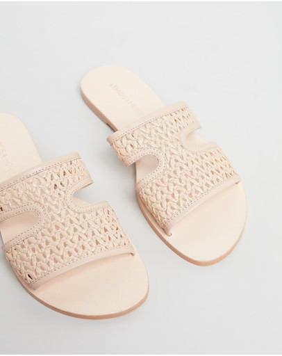 Atmos&Here - Piper Leather Sandals