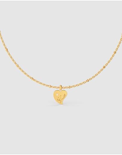 Guess Queen Of Heart Gold