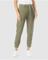 French Connection - High Waist Tapered Pant