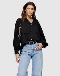 TOPSHOP - Cotton Casual Shirt