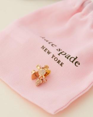 Kate Spade Disney x Kate Spade New York Minnie Pave Earrings - Jewellery (Gold)
