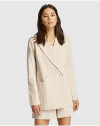FRIEND of AUDREY - Huntington Linen Blazer