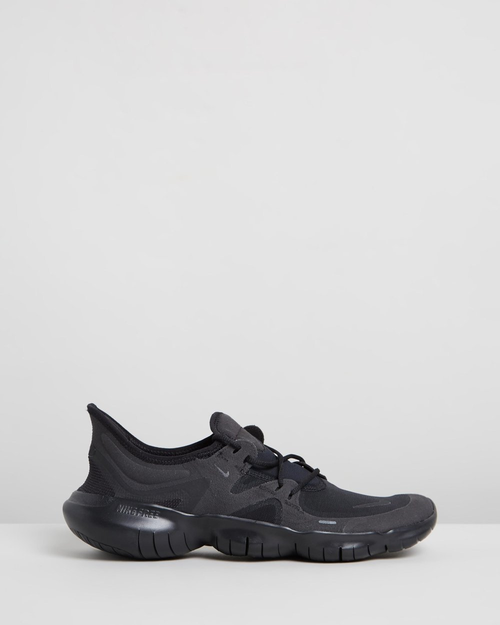 nike free run 5.0 mens black