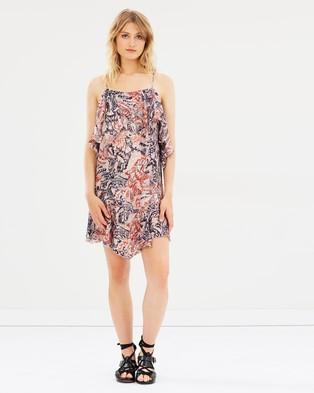 Buy IRO - Beverley Dress Ora -  shop IRO dresses online