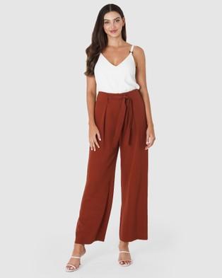Amelius Ultra Pants - Pants (Rust)