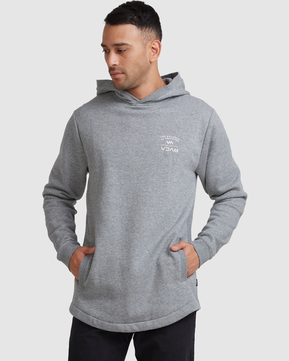 RVCA Bend It Like Rvca Pullover Jumpers & Cardigans GREY MARLE Australia