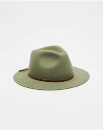 Brixton - Wesley Packable Fedora