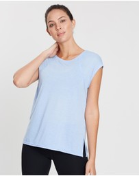 Calvin Klein Performance - Cap Sleeve Cross-Back Tee