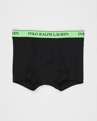 Polo Ralph Lauren 3 Pack Classic Trunks - Boxer Briefs (Polo Black)