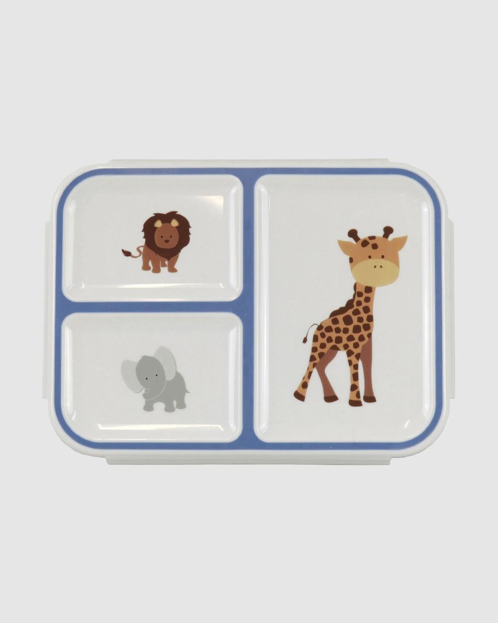Bobbleart Bento Box Safari Novelty Gifts Blue