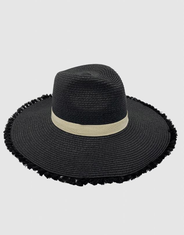 Women Jacaru 1868 Wide Brim Ladies Hat Black