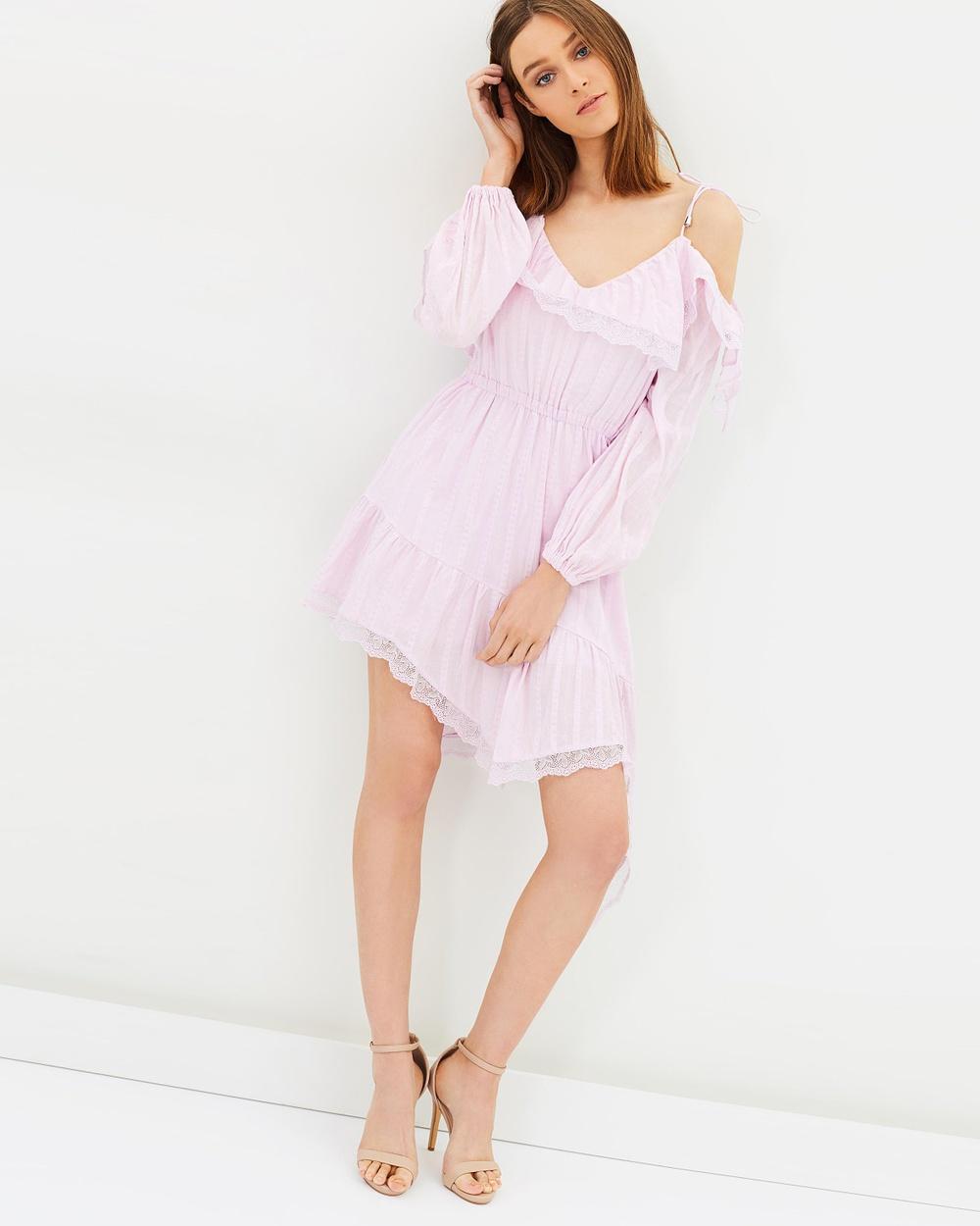 Steele Tatiana LS Dress Dresses Powder Tatiana LS Dress