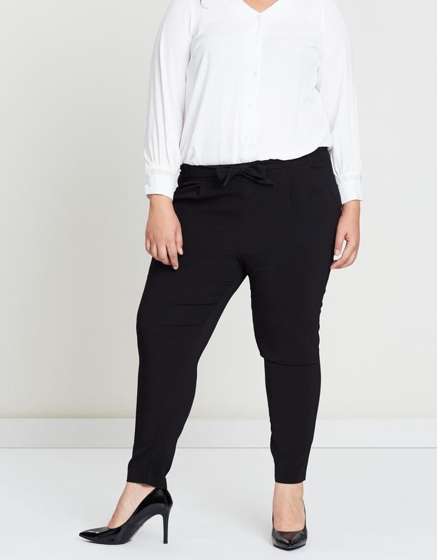 EVANS - Satin Tapered Pants
