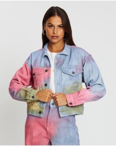 Cools Club Original Jean Jacket Tie Dye