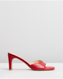 Atmos&Here - Kyra Leather Heels
