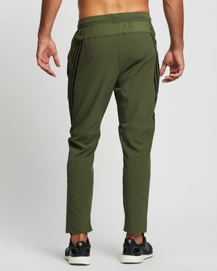 adidas Performance AEROREADY 3 Stripes Pants - Track Pants (Wild Pine)